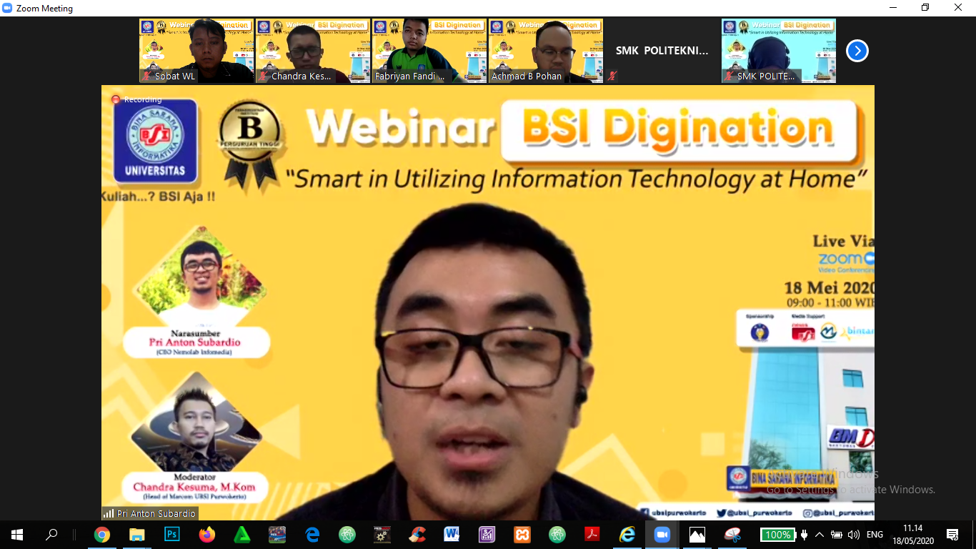 webinar bsi digination